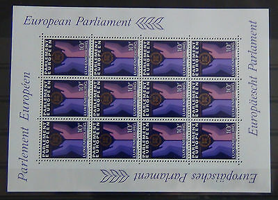Luxembourg 1984 2nd Direct Elections to European Parliament Miniature Sheet