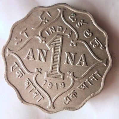 1919 INDIA ANNA - High Quality Collectible  -FREE SHIPPING - India Bin #A