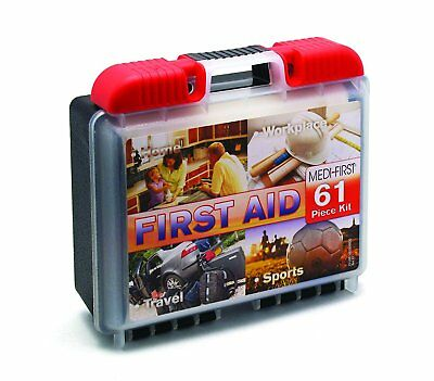 Medique - 40061 Portable First Aid Kit - 61 Piece