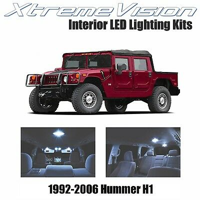 XtremeVision LED for Hummer H1 1992-2006 (14 Pieces) Cool White Premium Interior