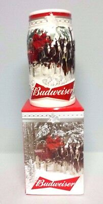 Budweiser 2017 Holiday Retreat Christmas stein  BLACK FRIDAY SPECIAL