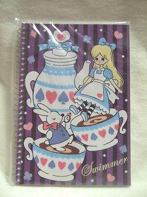 Swimmer Alice spiral notebook NEW B5