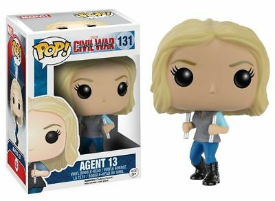 Funko Pop Neu & Ovp CAPTAIN AMERICA AGENT 13 (POP 131)