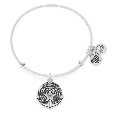 ALEX AND ANI Anchor Charm Bangle - The Anchor Represents Unbreakable Connections