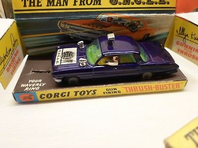 Original 1960's Corgi Toys The Man From Uncle 'Thrush-Buster' blue diecast 497