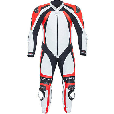RST Pro Series CPXC-2 Leather Suit - White/Flo Red *was £649.99*