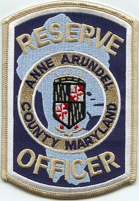 ANNE ARUNDEL COUNTY MARYLAND MD Reserve Officer POLICE PATCH