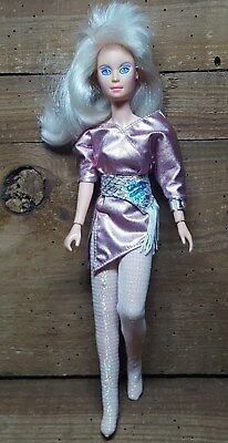 JEM AND THE HOLOGRAMS~JERRICA 80's~HasbroCLEAN BATTERY COMPARTMENT<LOOK> 1985