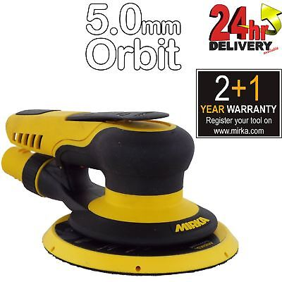 Mirka PROS 650CV 150mm Air Powered Random Orbital Sander Vacuum 5.0 mm