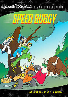 Hanna Barbera Classic Speed Buggy: The Complete Series 4-DVD SET! NEW FREE SHIP!