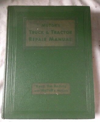1950 Motors Truck & Farm Tractor Repair Manual John Deere Oliver Ford Ferguson