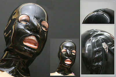 "Latex Maske ""OFramed"" Latex Maske Masque Mask Rubber -NEU-"