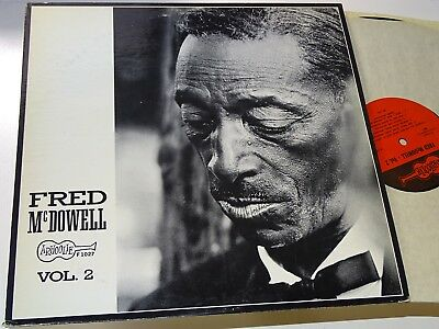 Fred Mcdowell Rare Usa Lp Arhoolie Rec Mcdowell Vol 2 Country Blues |148