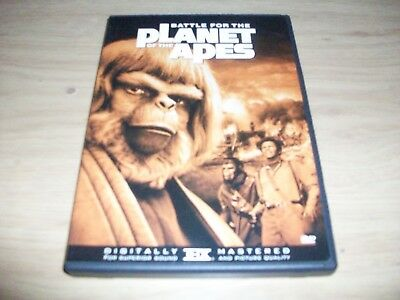 Sy Fy Movie: Battle For The Planet Of The Apes! Used & In Excellent Condition!!