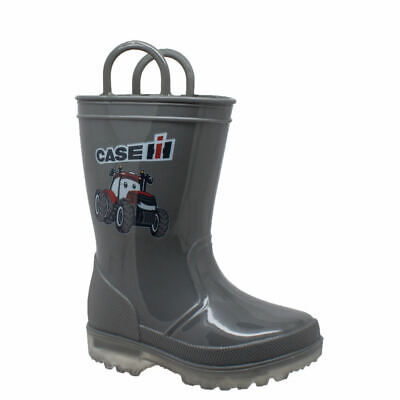 Case IH PVC Boot Light-Up Kids Toddler-Youth Boot