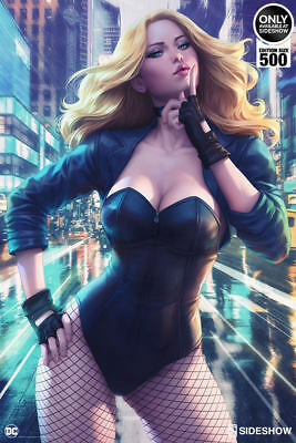 Sideshow Collectibles Black Canary Birds of Prey Limited Edition Art Print #396
