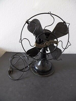 Antique Westinghouse Whirlwind Electric Fan #280598 Works Nice Original Paint