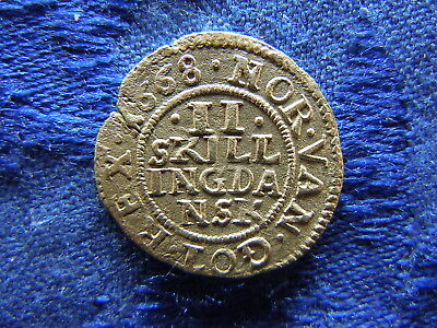 NORWAY 2 SKILLING 1668, KM85 cleaned
