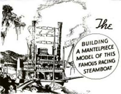 How To Make Model Robert E Lee Paddle Steamboat Article Plans Steamer #190