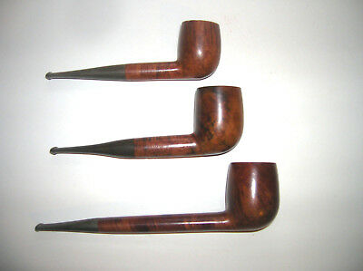 Vintage estate Jobey Shellmoor Extra E72 Billiard & BONUS Lot of  3 tobacco pipe