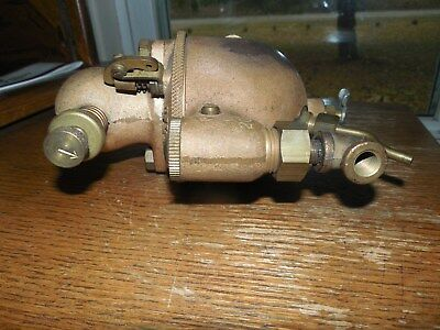 Nice Original N.o.s Schebler Model D 1 In. Carburetor Brass Nice ! Marine Engine
