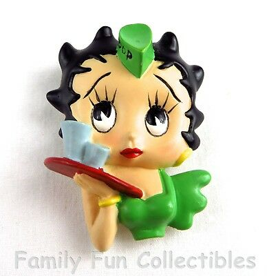 BETTY BOOP~1990s Vandor~Figural Magnet~Teenager~Carhop Doll Figure~NEW NOS