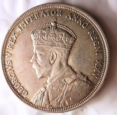 1935 CANADA DOLLAR - RARE DATE - HIGH GRADE BIG VALUE Silver Coin - Lot #N19