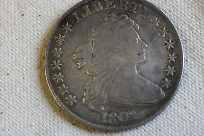 1802/1 Close Date Bust Dollar
