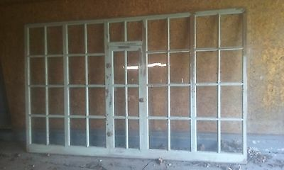 VINTAGE  40 Pane Window Store Front late 1890s early 1900s Great movie prop.