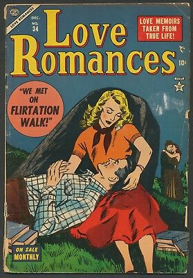 Love Romances #34 Timely Atlas romance