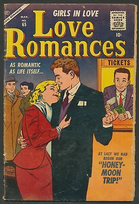 Love Romances #65 Timely Atlas romance