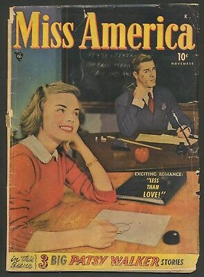 Miss America v7 #4 Timely Atlas romance Patsy Walker