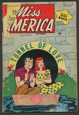Miss America v7 #36 Timely Atlas romance Patsy Walker