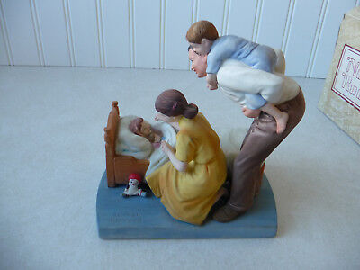 "Norman Rockwell ""Sweet Dreams"" Figurine American Family Series"