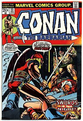 CONAN THE BARBARIAN #23 F 1st Red Sonja, Diamond Sales Insert Marvel Comics 1972