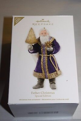 2012 Father Christmas Special Edition Hallmark Ornament NIB From 10000 Pc Lot