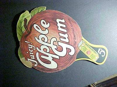 Early 1920's Apple Chewing Gum Hand Fan, Great Graphics!! Original, L@@K!