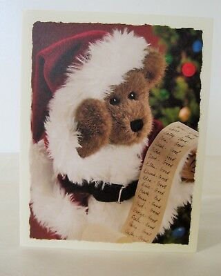 Boyds Bears Collection Claus Kringlebeary Christmas Cards 4 Boxes Of 10 New
