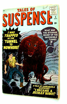 1959 Tales Of Suspense Issue #5 Comic Book 3.5 Condition Complete Clean