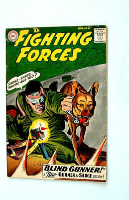 1959 Our Fighting Forces Issue #49 Comic Book First Gunner Issue