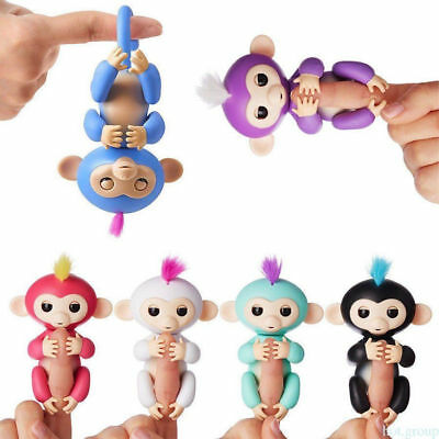 Cute Finger Toy Baby Monkey Intelligent Children Puzzle Toy Robot Pet For Kids
