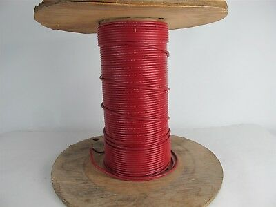 Times Wire & Cable Red Jacket Coax Cable - Approx. 140' on Spool