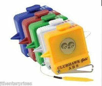 Lawn Bowls Measure  9' String Tape Measure & Calipers & Belt Clip Club Hawk