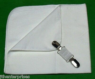 Lawn Bowls Cloth and Belt Clip Keeps your bowls cloth handy at your waist