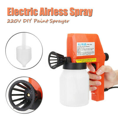 Electric Paint Sprayer Hand Held Spray Gun Airless Painter Painting House Wagner