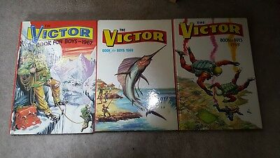 Victor Book for Boys 1967,1968,1969