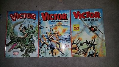 Victor Book for Boys 1987, 1988, 1989