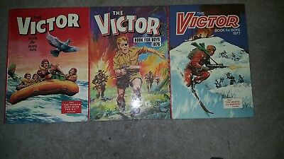 Victor Book for Boys 1975,1976,1977