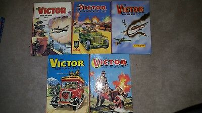 Victor Book for Boys 1970, 1971, 1972, 1973, 1974
