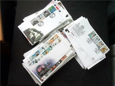 12374aj  GB c2000s COMMEMORATIVE FIRST DAY COVERS COLLECTION - USEFUL SELECTION?